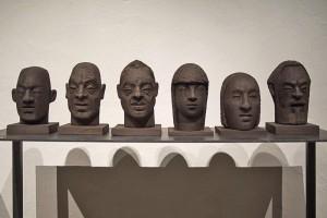 Peter Kuba / Kopf - Arbeiten / BRauhausgalerie Freistadt