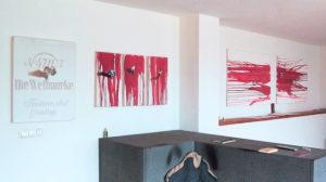 wohnzimmermgalerie six gernot-fischer 2014