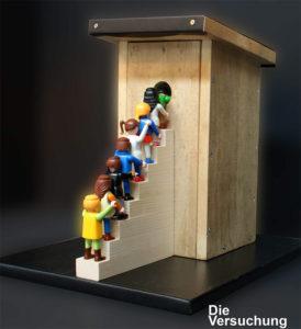 Die Versuchung / 3D Cartoons / Serie bitter pills von Christph Luckeneder