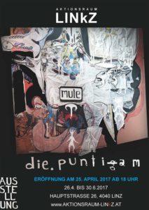 Einladung_Ausstellung_diePuntigam_Mute_Aktionsraum-Linz