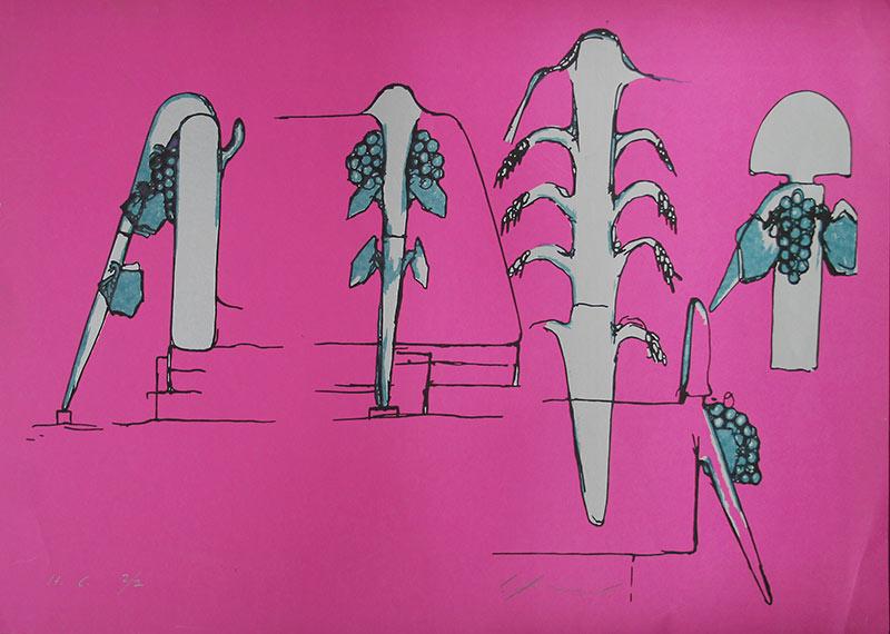 Bruno Gironcoli Sammeln Kunstschaffende Kunst