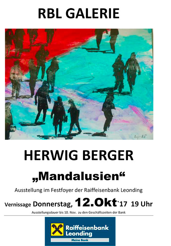 Plakat_Herwig-Berger_Mandalusien_RLB-Leonding201709