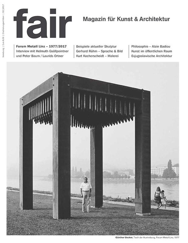 fair Magazin für Kunst & Architektur