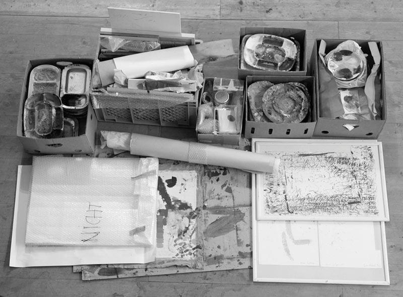KEINE KUNST-ARTEFAKTE / Sammlung Hubert Nitsch / Galerie Forum Wels 201802