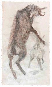 FUNDAMENTAL / Therese Eisenmann / aus der Serie Tierbilder / Bütten
